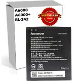 ORIGINAL BL242 BATTERY FOR LENOVO A6000 AND 6000 PLUS WITH 2300mAh