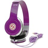Signature Purple vm46 Solo Universal Headphone  purple, Over the Ear all smartphone support
