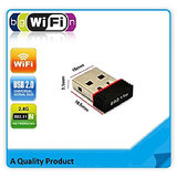 Mini 2.4Ghz Wireless Wifi Dongle 300Mbps 802.11n USB Connector