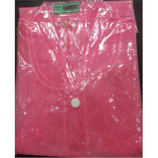 Ladies Plain Raincoat With Separate Cap (42 Inches)
