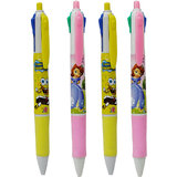 Toys Factory 4 Grip pen Multi Colour Set of 4  different Colours Refill in 1 Pen