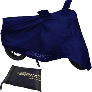 Mototrance Universal Blue Bike Body Cover For All Bikes