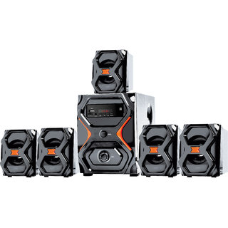 I Kall IK222 Speaker system 5.1 Channel Cum Home Theater without DVD Player 1 Year Manufacturing Warranty