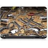 VI Collections 3 D SILVER TOOLS pvc Laptop Decal 15.6