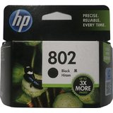 HP 802 Single Color Ink Cartridge Black