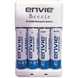 Envie Bettle ECR 20 Combo With 4xAA 2100 Ni MH rechargeable Camera Battery Charger