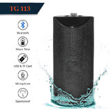 TG113   Bluetooth Speaker Best Sound Quality Playing with Mobile/Laptop/AUX/Memory Card/Pan Drive  Multi Color