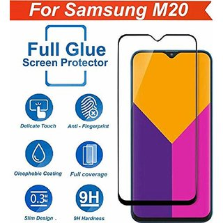 Mascot Max tempered glass 6D tempered glass 9h black for Samsung Galaxy M20