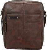 URBANITY Leather Men Messenger Bag  amp; Sling Bag  Brown
