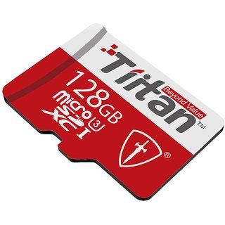 Tiitan 128 GB Micro SD Class U3 Speed up-to 300...