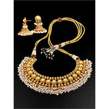 08659cdf912d6 Avon Traditional Maang Mala Necklace and Earrings Set