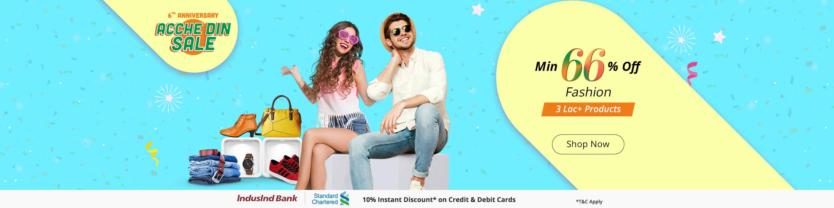 ShopClues 6th Anniversary sale