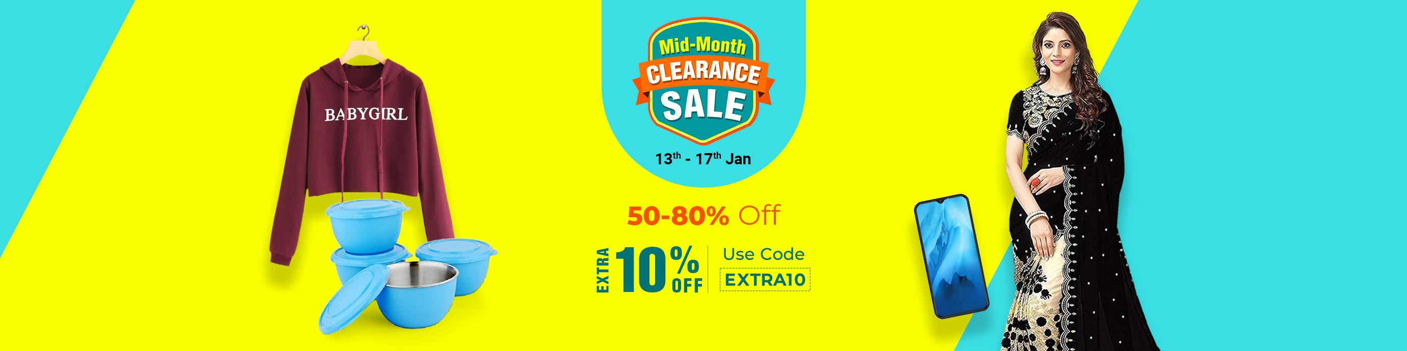 ShopClues.com - Upto 80% Off on all products