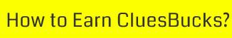 How to Earn Cluesbuck? - ShopClues