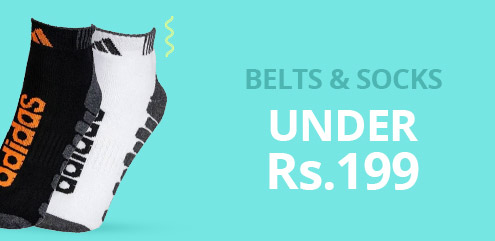 Belts & Socks - ShopClues
