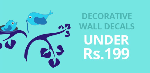 Decorative Wall Decals - ShopClues