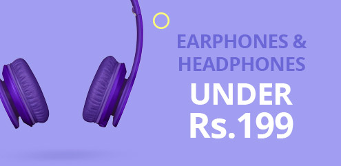 Earphones & Headphones - ShopClues