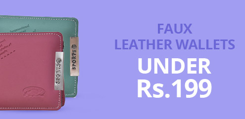 Faux Leather Wallets - ShopClues