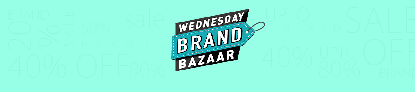 Brand Bazaar Wednesday starting Rs.99