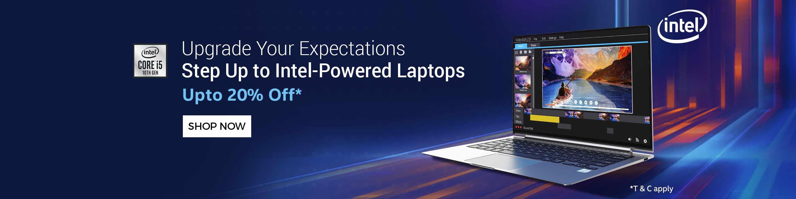 ShopClues.com - Get Upto 20% Discount on laptops