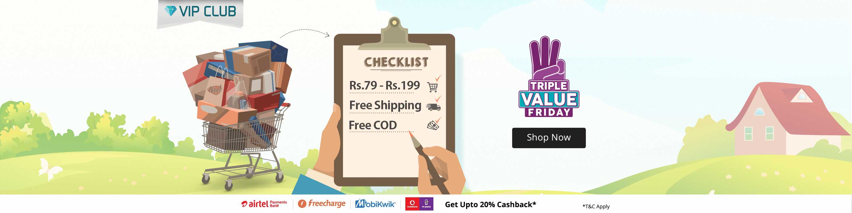 Triple Value Sale | Deal Rs 79 -199 | Free shipping COD