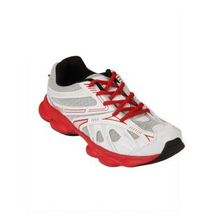 Yepme R-Tone Sports Shoes- White & Red