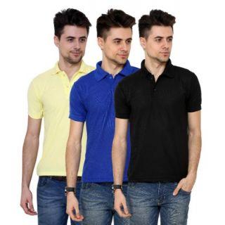 Grand Bear Pack Of 3 Polo T Shirt For Men