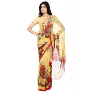 Ram Crepe Fashion Printed Saree