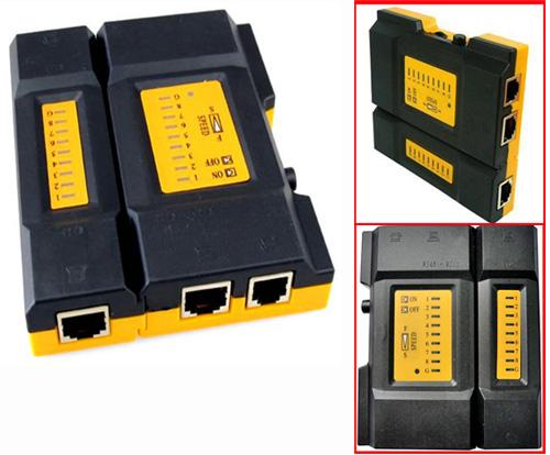RJ45 RJ11 CAT5 Network Tool Kit Cable Tester LAN Tester