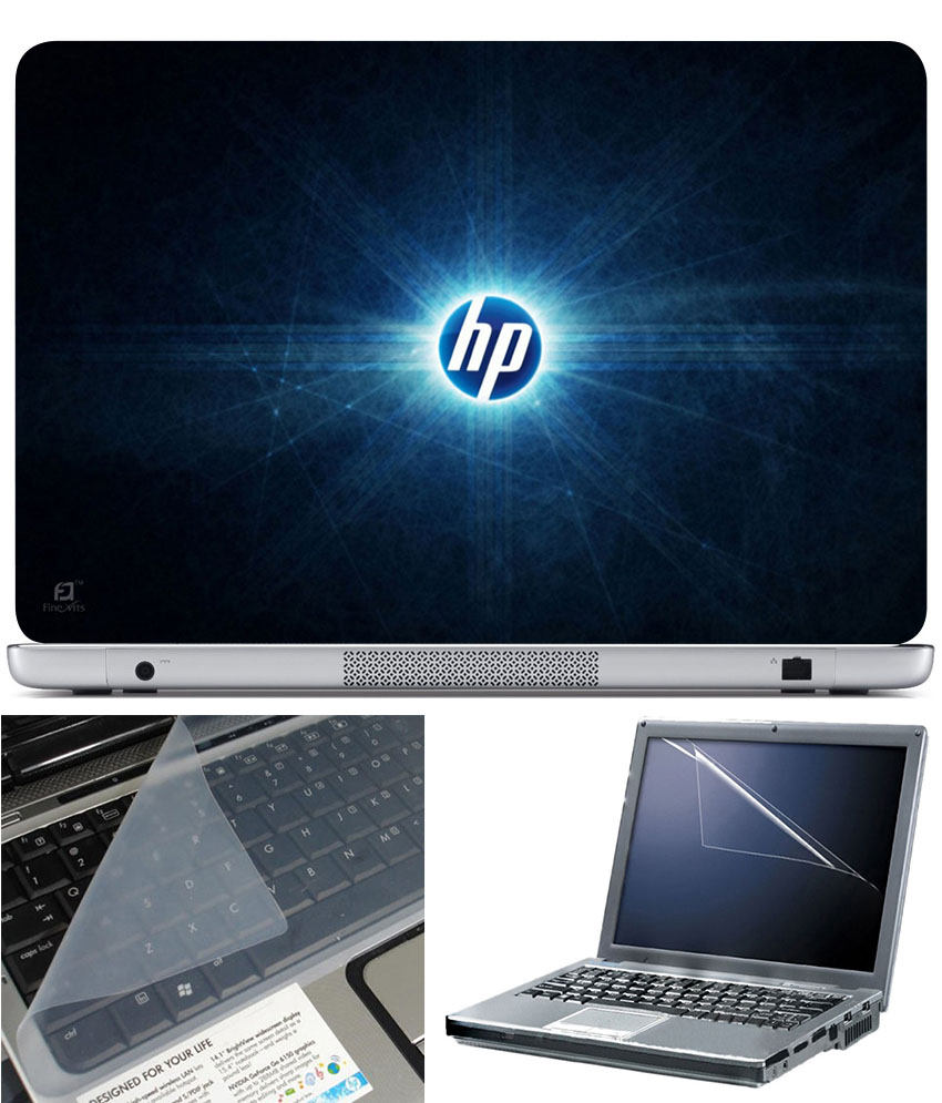 Finearts Laptop Skin 15.6 Inch With Key Guard   Screen Protector   Hp Rays