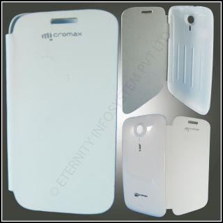 Micromax Unit 2 A106 White Flip Cover
