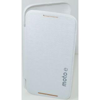 Motorola Moto E XT1022 Flip Cover White