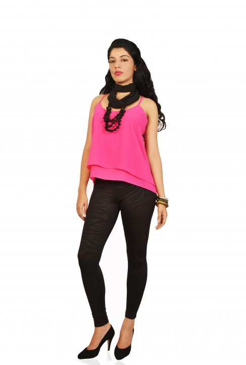 Isadora Casual Sleeveless Solid Women's Top