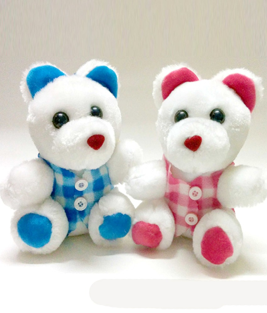 Deals India Molly Red Bear   45 cm
