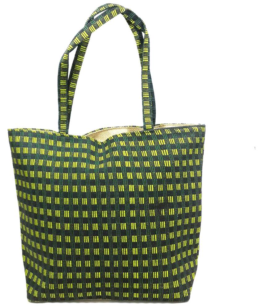 Archana Jute Bags Others Shoulder Bag Green