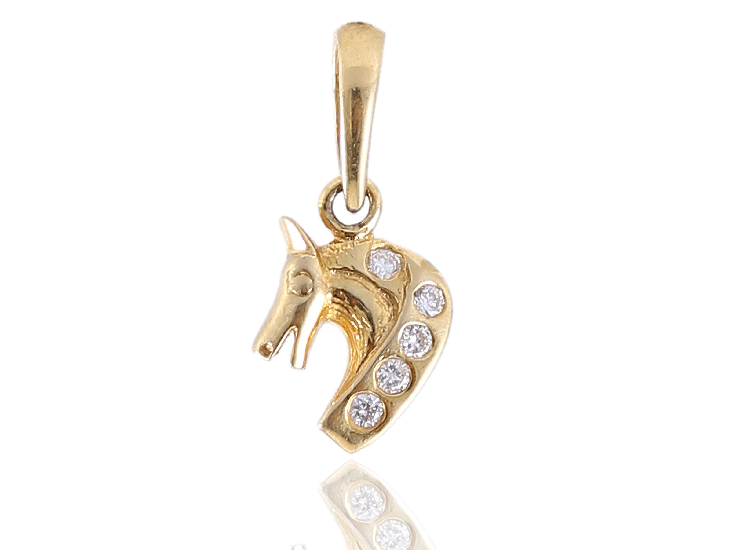 Diamond Pendant In Solid BIS Hallmark 18KT Gold  P 8269