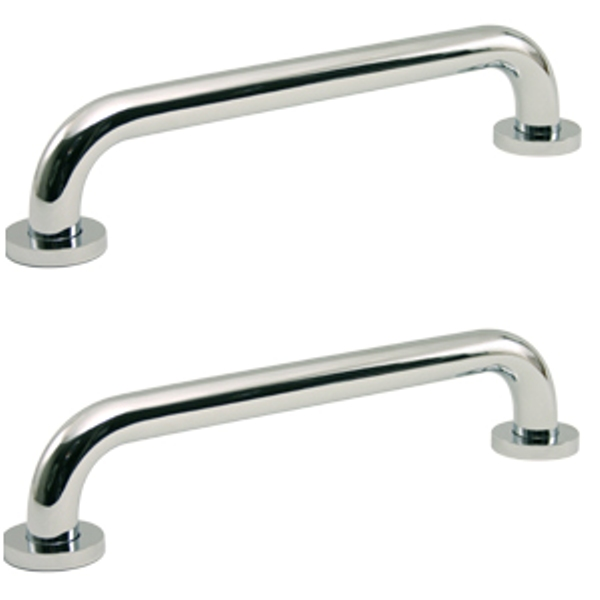KT Hardware Solutions Grab Bar   8 Inches   Set of 2