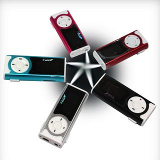 Mp3 Player With Lcd 16Gb Micro Sd Support Clip Metal Body Built-In Loud Speaker