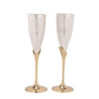 Royal Silver Wine Glass Set of 1