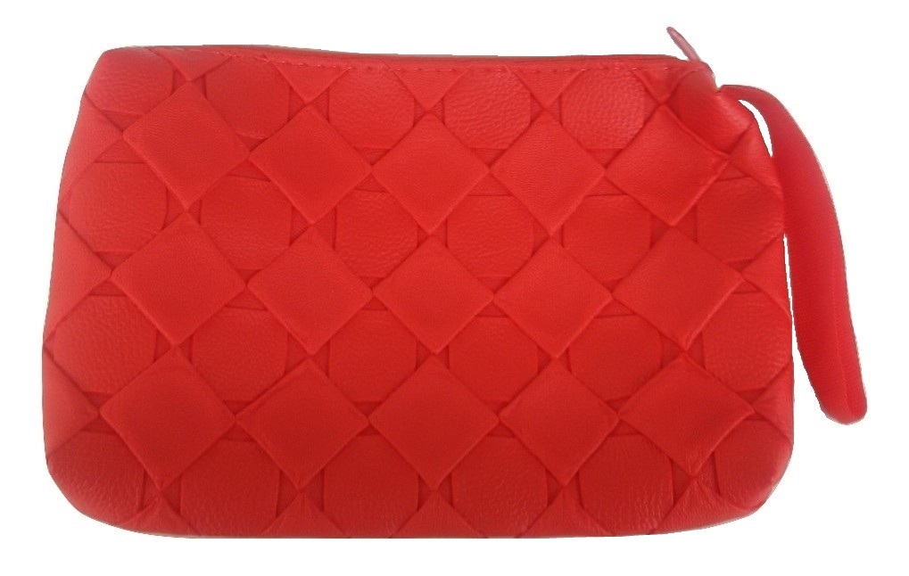 Viva Fashions Multipurpose Cosmetic/accessories bag/Jewellery Pouch  Red