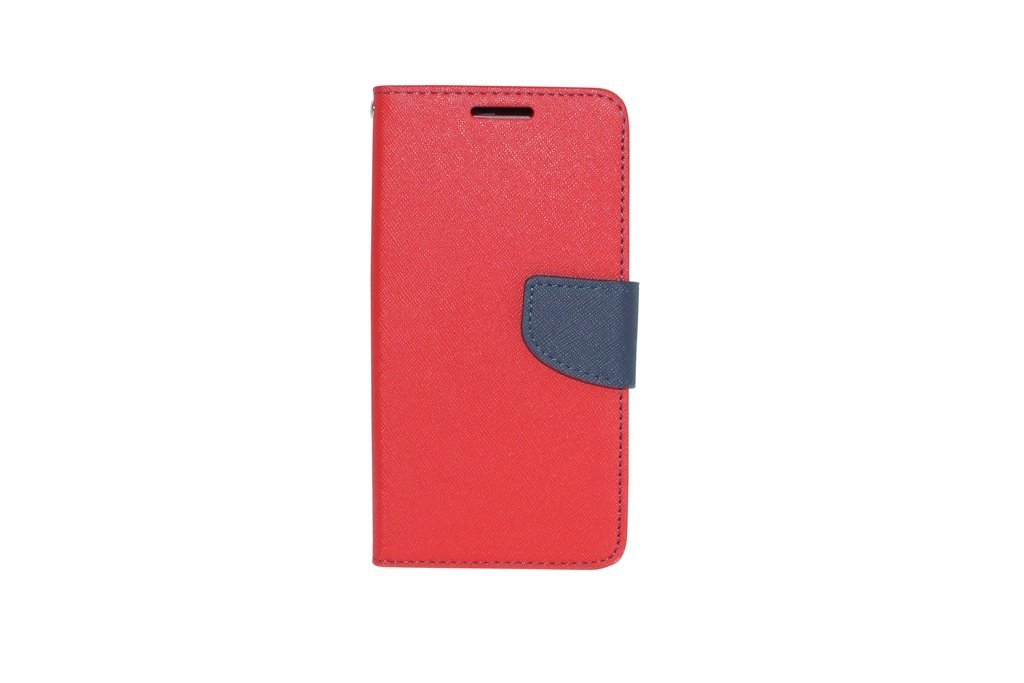Steel Plus Samsung Galaxy Note 5 Edge Wallet Case Cover   Red