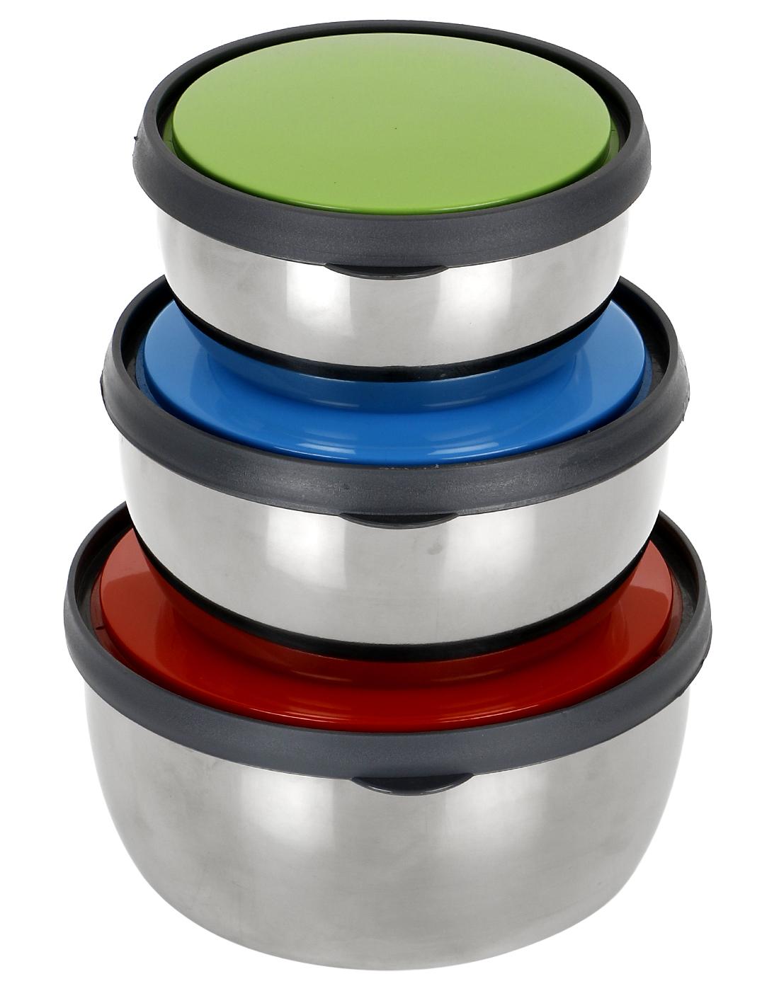 steel bowls   3 pc Set   lovato