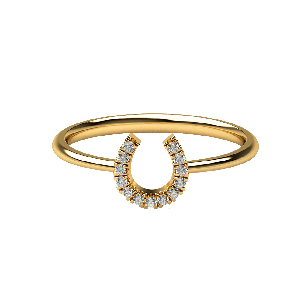 Real Diamonds And Hallmarked 18Kt Yellow Gold Ring La 9_Yellow_Gold_18Kt