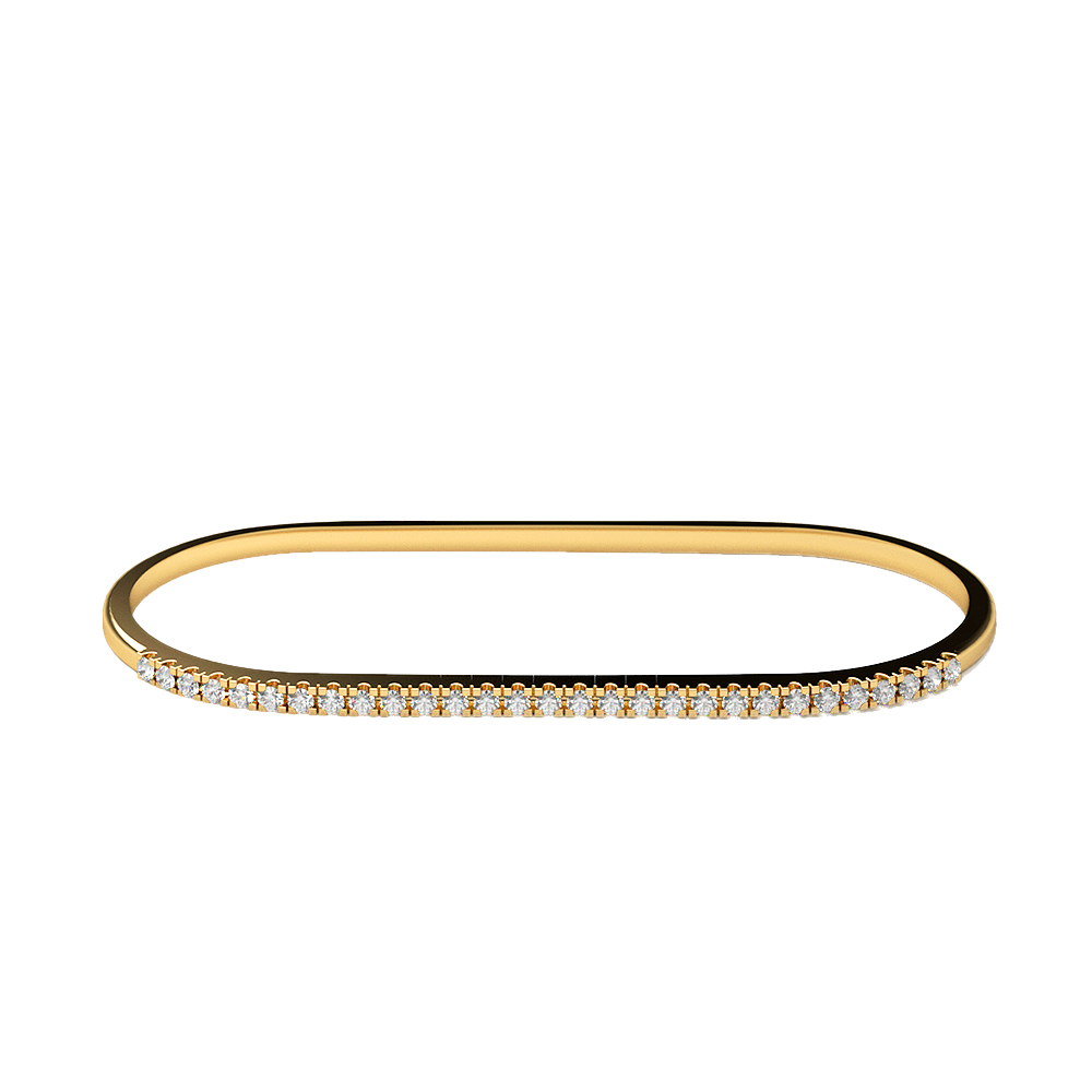 Real Diamonds   Hallmarked 14Kt Yellow Gold Ring La 21_Yellow_Gold_14Kt