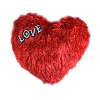 Musical Heart Soft Toys Cushion size 22X26 CM