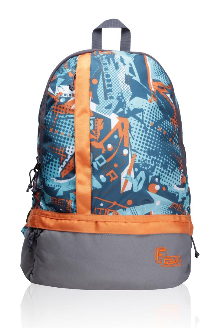 F Gear Burner P3 Orange Backpack Bag