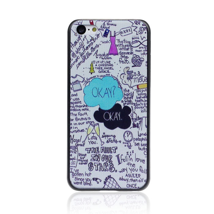 IPHONE 5C Back Cover   Fault in our stars  Series