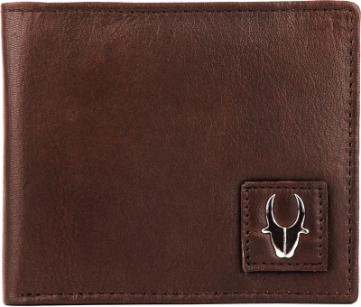 Wildhorn Men Brown Genuine Leather Wallet  6 Card Slots
