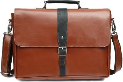 Wildhorn 15 Inch Laptop Messenger Bag  Brown