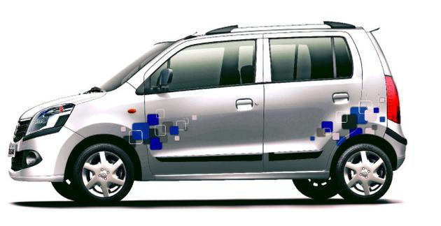 Wagon r wagonr special limited new latest side sticker graphics decals